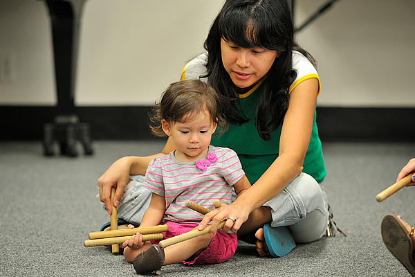 Early Childhood Music Program at the University of North Texas College of Music