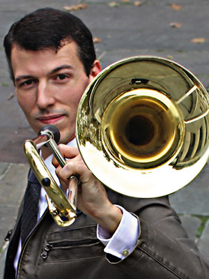 Nick Finzer, Trombone - headshot