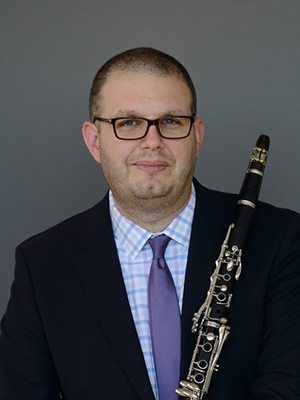 Phillip O. Paglialonga, clarinetist