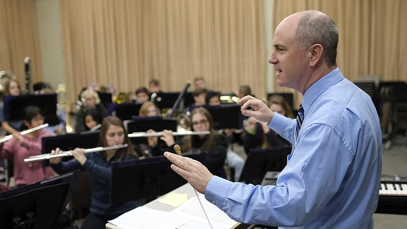 Jeremy Bradstreet Conducting
