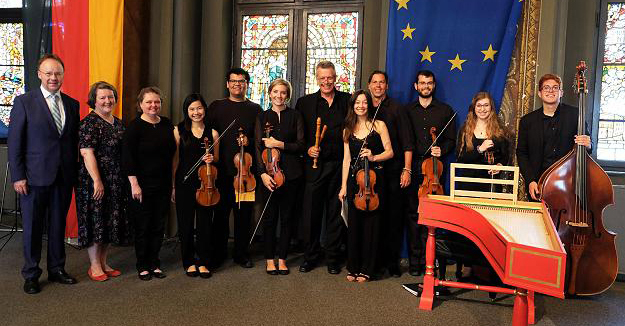 UNT Baroque Ensemble 'Fantasmi' photograph