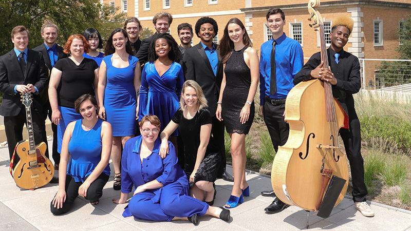 Unt Jazz Singers group