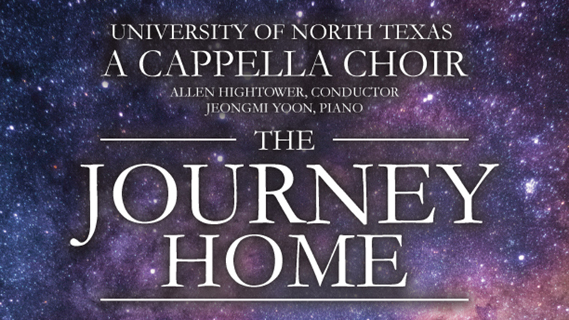 "Program Cover for ""A Journey Home"""
