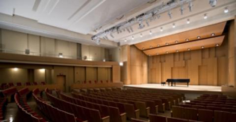 Paul Voertman Concert Hall - University of North Texas College of Music