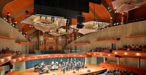 Margot and Bill Winspear Performance Hall - University of North Texas College of Music