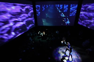 Merrill Ellis Intermedia Theater - University of North Texas College of Music