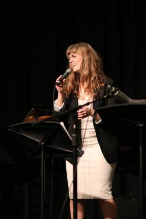 Marion Powers, singing