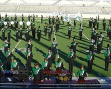 Green Brigade Marching Band - University of North Texas College of Music