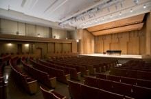 Paul Voertman Concert Hall - University of North Texas College of Music