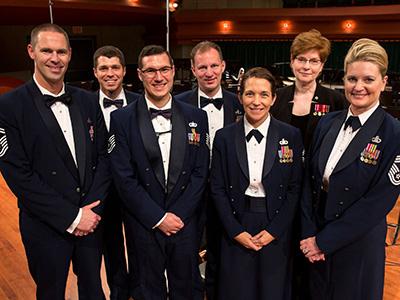 Air Force Band Members