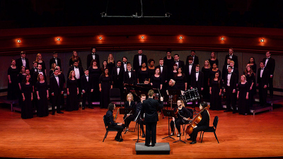 Bryan Murray Conducting University Singers