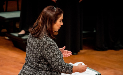 Jessica Napoles Conducting
