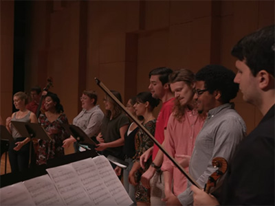UNT Music Video honoring Mahatma Gandhi