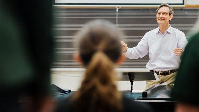 Allen Hightower Conducting Choir