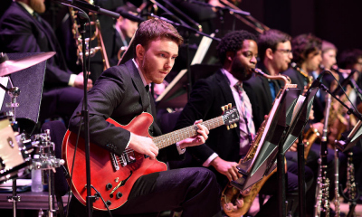 UNT Jazz Guitars in performance