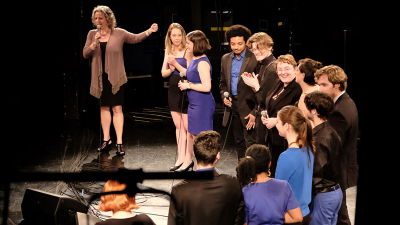 Jazz Singers with Director Jennifer Barnes