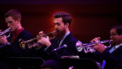 Jazz Trumpets performing