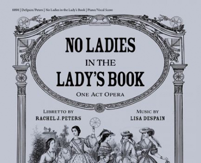"""Front Cover of """"No Ladies in the Lady Book"""""""