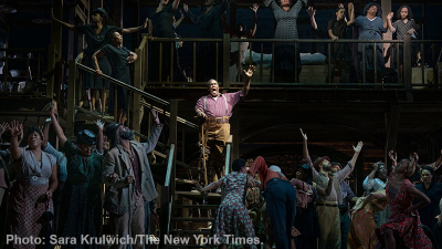 Performance of Porgy and Bess - Photo: Sara Krulwich/The New York Times.