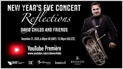 """David Childs, presented """"Reflections - David Childs and Friends - A New Year's Eve Concert"""""""