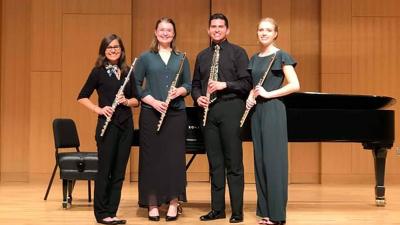Shades of Blue Flute Quartet