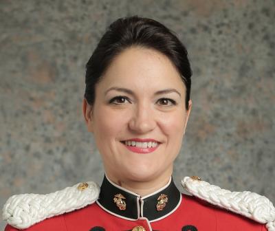 Gunnery Sgt. Sara Sheffield portrait