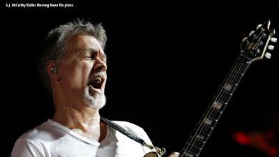 Van Halen performing