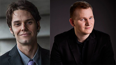 Mark Vaughn and Christoph Hintermüller Headshots
